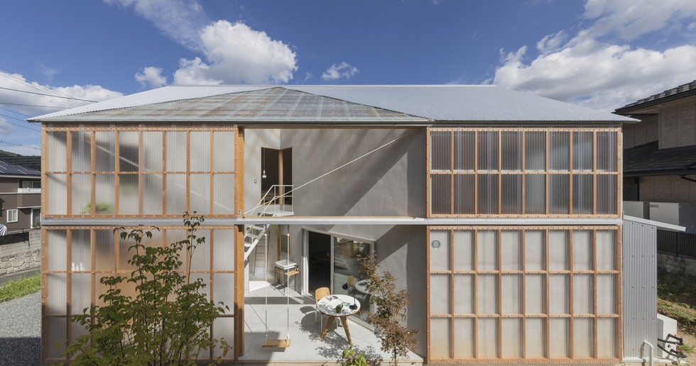 Tato Architects: house in Sonobe, Japan