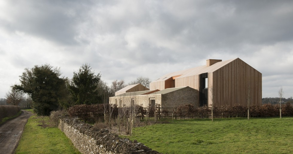 Bureau de Change: Long House on the Cotswolds Hills