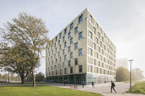 Mecanoo has created the new student residence for the Erasmus University in Rotterdam