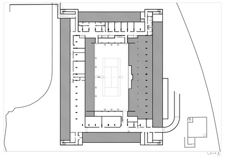 Marc Mimram has designed the new tennis court at Roland Garros in Paris