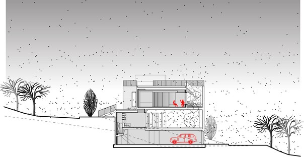 LEFT Architects: Out-to-Out House in Faqra, Lebanon