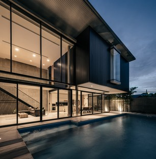 "Thai firm Anonym has designed ""bAAn"", a luxury residence in Bangkok"