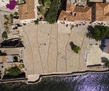 Moy Studio: Water paths, Monemvasia's new square