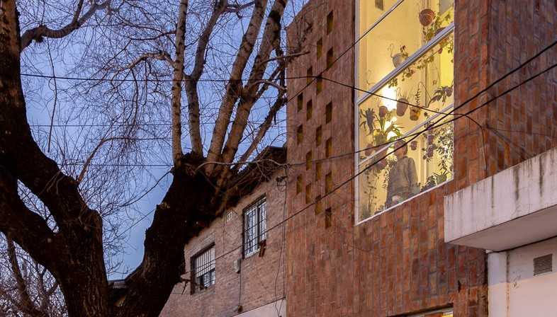 Elisa Fuscaldo, Sebastian Gomez: El Sucucho home and studio in Rosario
