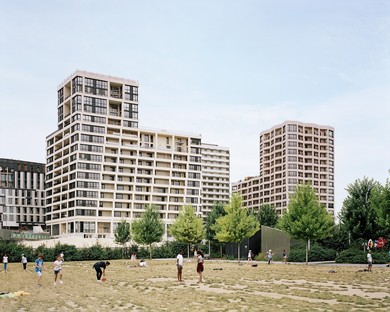 "The ""Cultural Block"" in Paris, designed by Tolila+Gilliland with TVK"