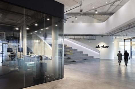 Stryker Innovation Centre designed by HENN Architects in Freiburg
