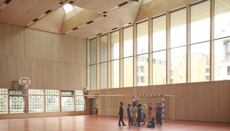 Dietrich Untertrifaller + Tekhnê: Alice Milliat Gym in Lyon