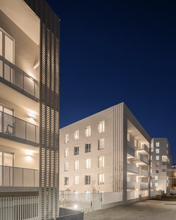 Housing in Ivry by Tectône Architectes