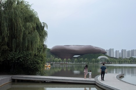 Floating melodies: the CROX's Liyang Museum