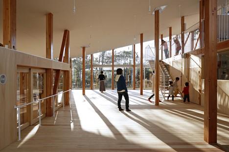 Kentaro Yamazaki: Hakusui Nursery School in Sakura, Japan