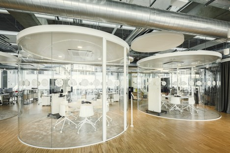 AMDLCIRCLE and Michele De Lucchi: Z-LIFE offices, Bresso, Milan