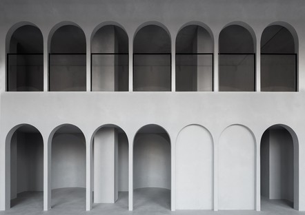 "WALL Architectural Bureau for Rasario: not a showroom, but rather a ""multifunctional urban space"""
