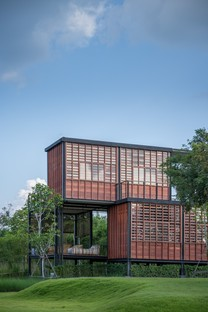 TA-CHA Design: Binary Wood House, Pak Chong, Thailand
