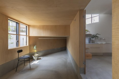 Tato Architects: Functional cave: spiral house in Takatsuki