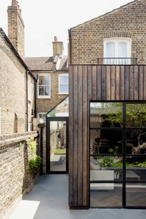 Trellik's Charred Garden House in London