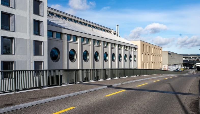 Harry Gugger: conversion of Basel's historic Silo Erlenmatt