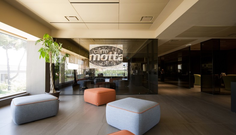 Interview with Diego Granese: Caffè Motta offices in Salerno