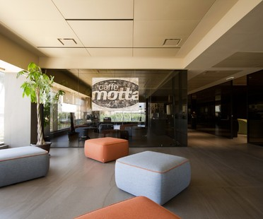 Interview with Diego Granese: Caffè Motta offices in Salerno