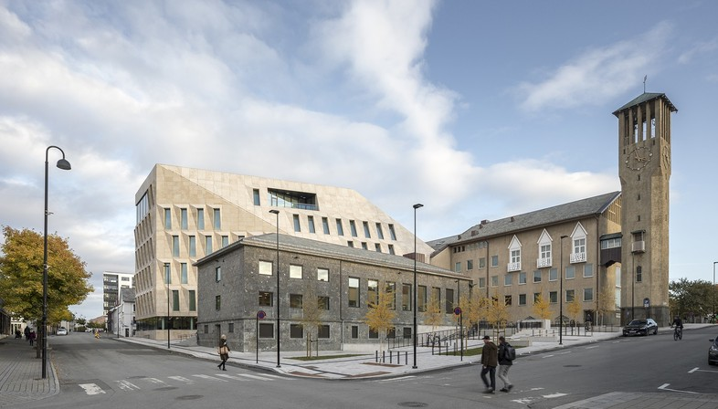 Bodø's new town hall designed by Atelier Lorentzen Langkilde