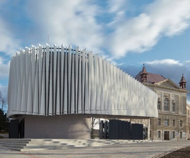 Qarta architektura: Auditorium of the College of Polytechnics, Jihlava