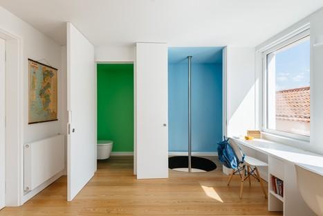 Aurora Arquitectos: Residence in Rua Bartolomeu Dias, Lisbon