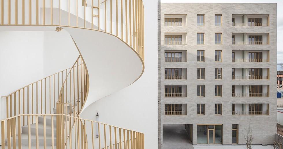 Tectône housing development – Architectes Urbanistes in Ile de Nantes
