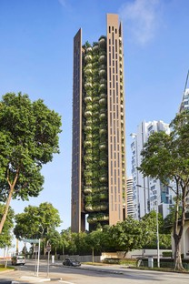 Heatherwick's EDEN, the studio's first residential project in Singapore