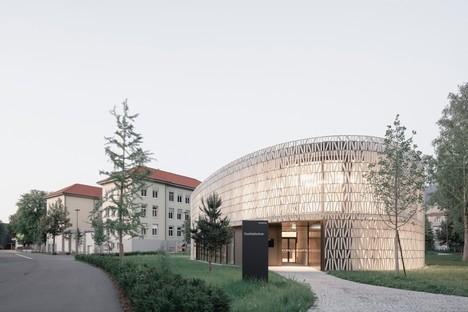 Dietrich Untertrifaller: New Dornbirn public library