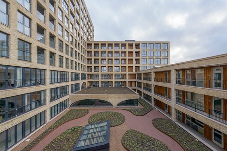 Westbeat designed by Studioninedots: combining private residences with public space in Amsterdam