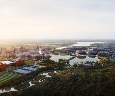 UAD presents the international campus of Zhejiang University in China