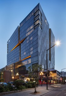 The Montréal Four Seasons Hotel designed by Lemay and Sid Lee Architecture
