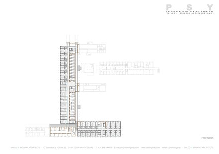 Vaillo+Irigaray: Expansion of a psychiatric centre in Pamplona