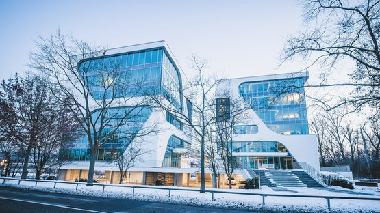 FC Ingenieure Campus and 3deluxe architecture's