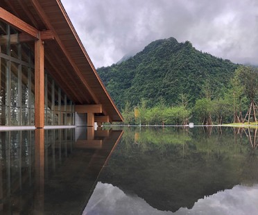 """The Yunshan Art Museum, designed """"with love"""" by CROX and Yuan Gou Design"""
