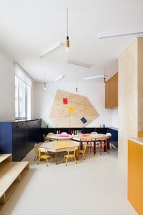 No Architects: Redevelopment of Malvína nursery in Karlín