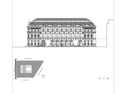 Dominique Perrault: Restoration and transformation of the Poste du Louvre