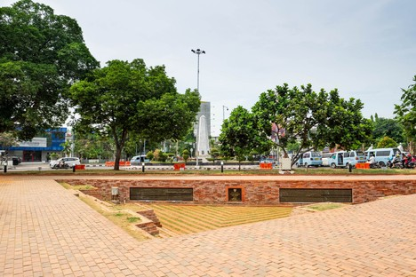 SHAU: Alun-alun Kejaksan Square, Cirebon, Indonesia
