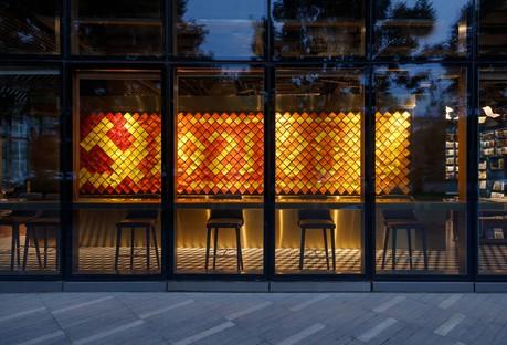 3andwich Design: Viti Books bookshop in Beijing