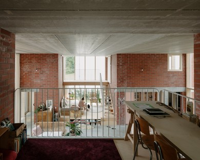BLAF Architecten: home for a family in Malines, Flanders