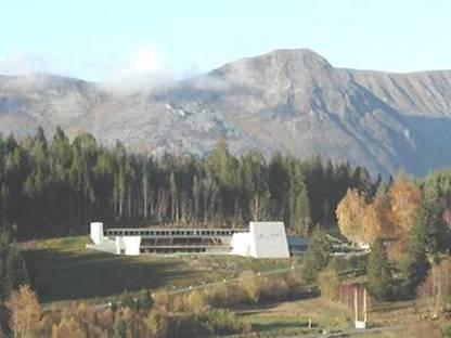 Sverre Fehn Ivar Aasen Centre, Orstad, Norway, 2000