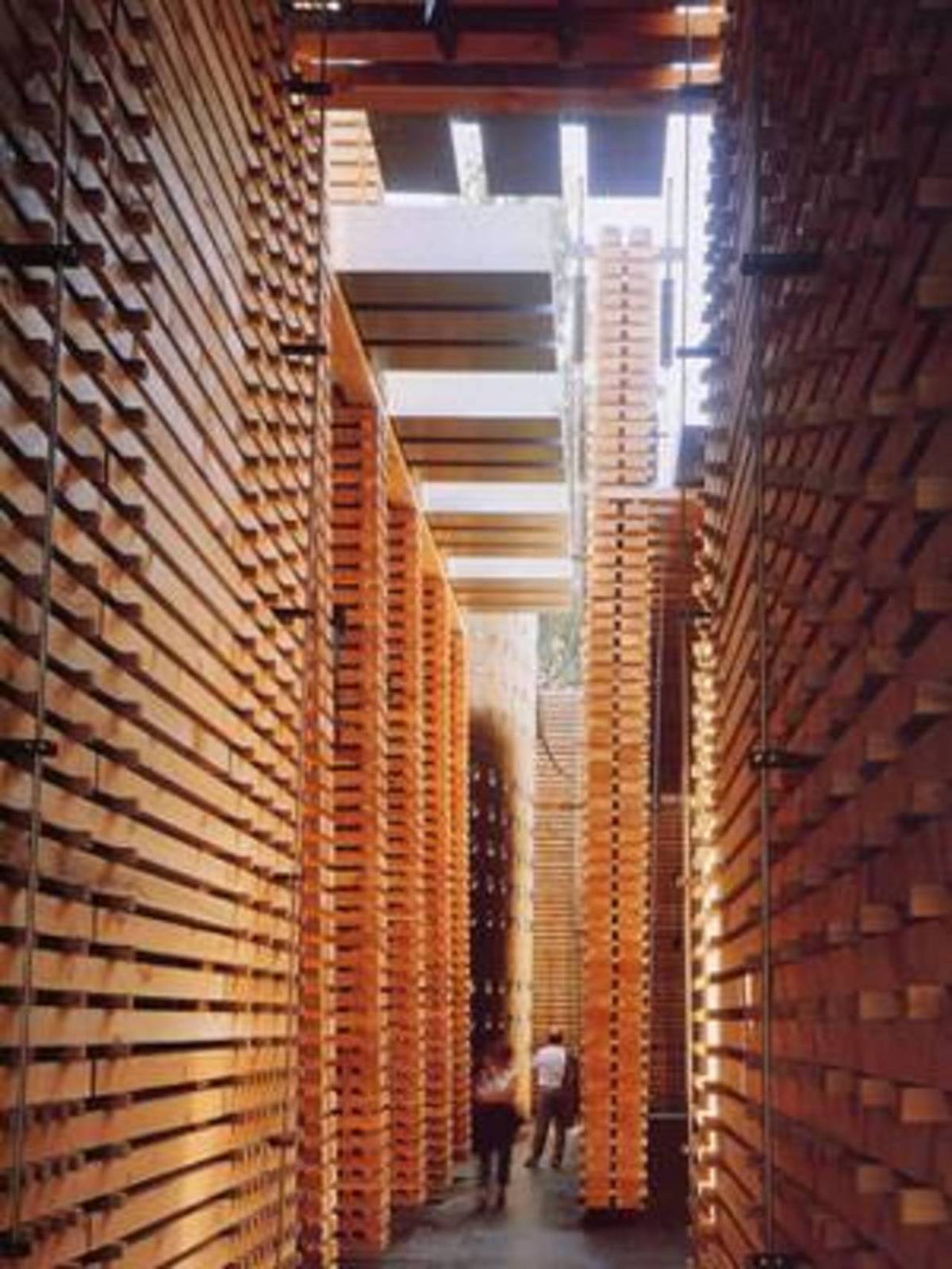 P Zumthor Swiss Pavilion At Expo 2000 In Hanover Floornature