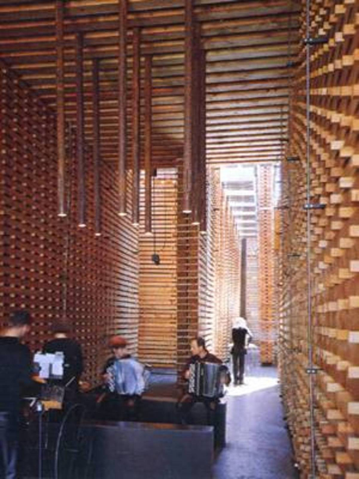 P. Zumthor Swiss Pavilion at Expo 2000 in Hanover