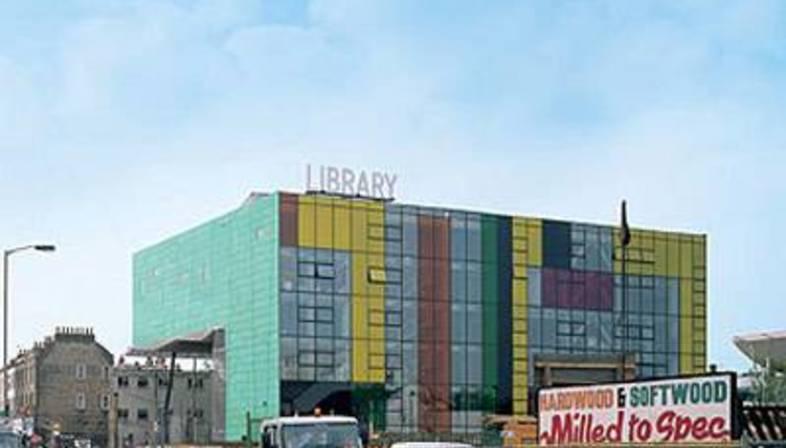 William Alsop: Peckham Library, London