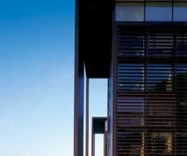 Henning Larsen's Copenhagen Unibank nears completion