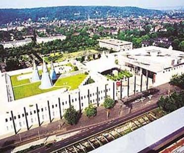 Oswald Mathias Ungers: Kunstpalast in Dusseldorf, 1995-2001