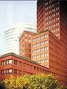 Hans Kollhoff: Office tower,<br> Potsdamer Platz, Berlin, 1997-2000