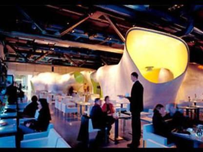 Dominique Jakob & Brendan MacFarlane<br> Georges Restaurant, Centre Georges Pompidou