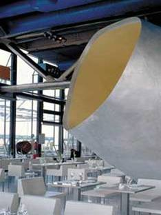 Dominique Jakob &amp; Brendan MacFarlane<br> Georges Restaurant, Centre Georges Pompidou