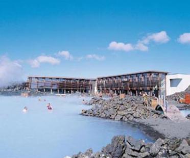 Vannustofa Arkitekta: Blue Lagoon, Grindavik, Iceland, 1999