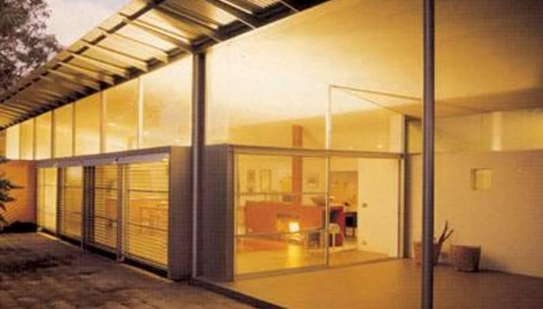 Glenn Murcutt\'s aesthetics of need in the Meagher house   Floornature